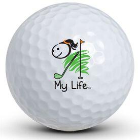 My Life - Golfing (Female) Golf Balls