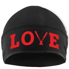 Skiing Beanie Performance Hat - Ski Love