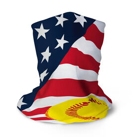 Softball Multifunctional Headwear - USA Flag RokBAND
