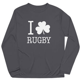 Rugby Long Sleeve Performance Tee - I Shamrock Rugby