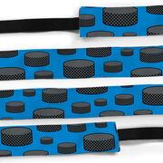 Hockey Juliband No-Slip Headband - Tossed Puck Pattern