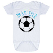 Soccer Baby One-Piece - I'm A Keeper