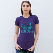 Gymnastics Women's Everyday Tee - Real Athletes Wear Leos