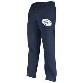 Rugby Fleece Sweatpants Rugby Ball