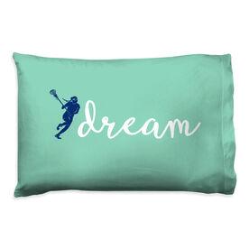 Girls Lacrosse Pillowcase - Dream