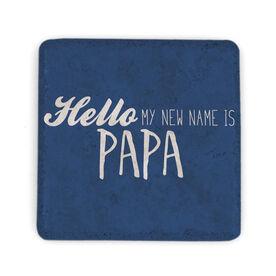 Stone Coaster - Papa