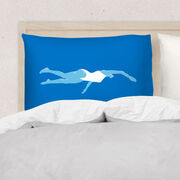 Swimming Pillowcase - Girl
