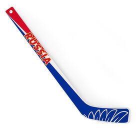 Knee Hockey Player Stick Russia