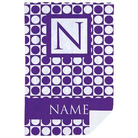 Personalized Premium Blanket - Classic Monogram