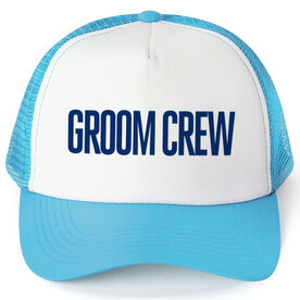 Personalized Trucker Hat - Groom Crew