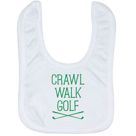 Golf Baby Bib - Crawl Walk Golf