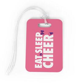 Cheerleading Bag/Luggage Tag - Eat Sleep Cheer