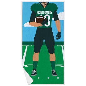 Football Premium Beach Towel - Player