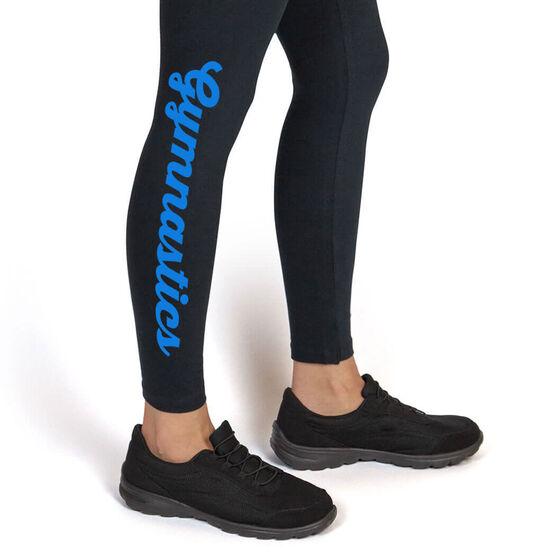 Gymnastics Leggings Gymnastics Script