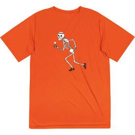 Guys Lacrosse Short Sleeve Performance Tee - Never Stop Laxing