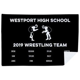 Wrestling Premium Blanket - Team Roster