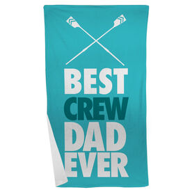 Crew Beach Towel Best Dad Ever