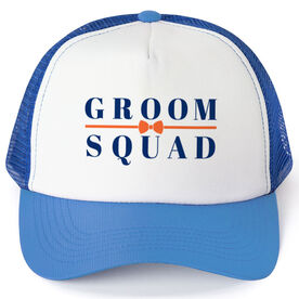 Personalized Trucker Hat - Groom Squad (Bowtie)