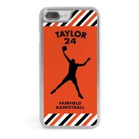 Basketball iPhone® Case - Personalized Guy Player