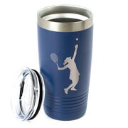 Tennis 20 oz. Double Insulated Tumbler - Female Silhouette