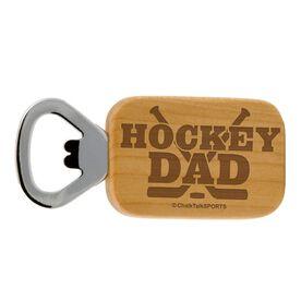 Hockey Dad Maple Bottle Opener