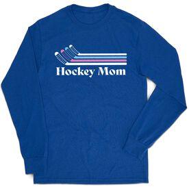 Hockey Tshirt Long Sleeve - Hockey Mom Sticks
