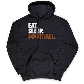 Football Standard Sweatshirt Eat. Sleep. Football.
