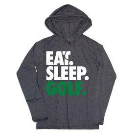 Women's Golf Lightweight Hoodie - Eat Sleep Golf