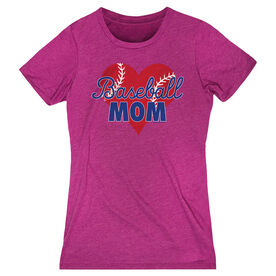 Baseball Women's Everyday Tee - Baseball Mom