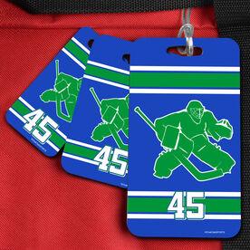 Hockey Bag/Luggage Tag Personalized Hockey Goalie