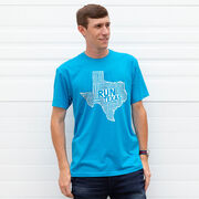 Running Short Sleeve T-Shirt - Texas State Runner