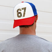 Trucker Hat - Army Custom Number