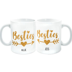 Personalized Coffee Mug Set - Besties Set