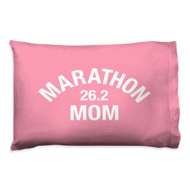 Running Pillow Case - Marathon 26.2 Mom
