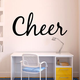 Cheer Written Out Removable ChalkTalkGraphix Wall Decal