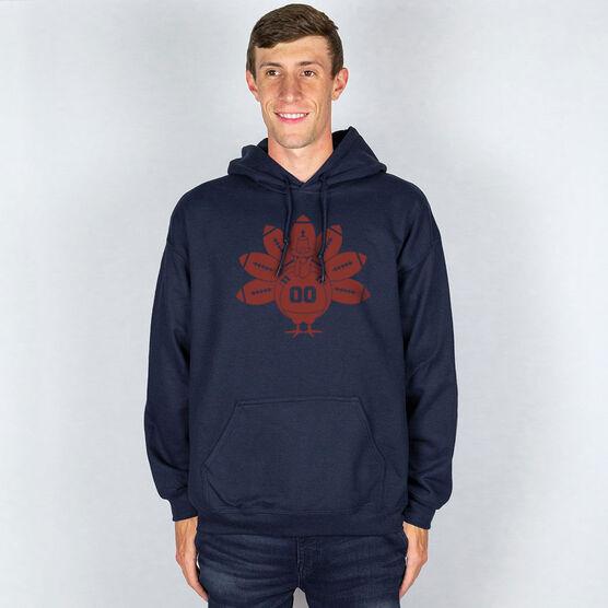 Football Hooded Sweatshirt - Turkey Player