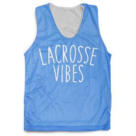Girls Lacrosse Racerback Pinnie - Lacrosse Vibes
