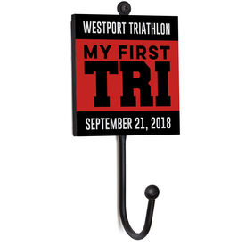 Triathlon Medal Hook - My First TrI