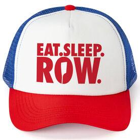 Crew Trucker Hat - Eat Sleep Row