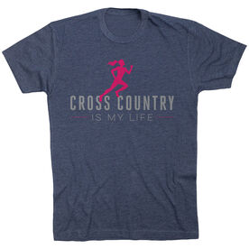 Cross Country Short Sleeve T-Shirt - My Life (Female)