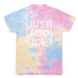 Hockey Short Sleeve T-Shirt - Just Add Ice Tie Dye