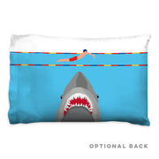 Swimming Pillowcase - Shark Attack (Guy Swimmer)