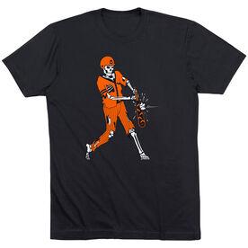 Baseball Short Sleeve T-Shirt - Home Run Zombie