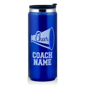 Stainless Steel Travel Mug Cheer Coach