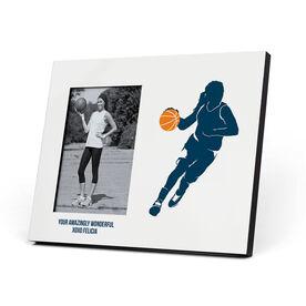 Basketball Photo Frame - Girl Player