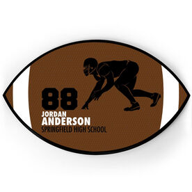 Football Plaque - Linebacker With Text