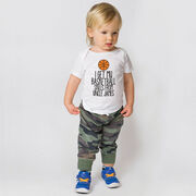 Basketball Baby T-Shirt - I Get My Skills From