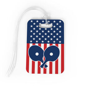 Ping Pong Bag/Luggage Tag - USA Ping Pong