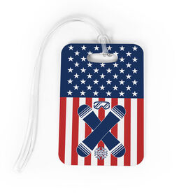 Snowboarding Bag/Luggage Tag - USA Snowboarder