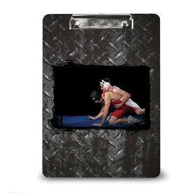 Wrestling Custom Clipboard Wrestling Custom Photo